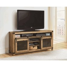 64 Inch Console - Driftwood Finish