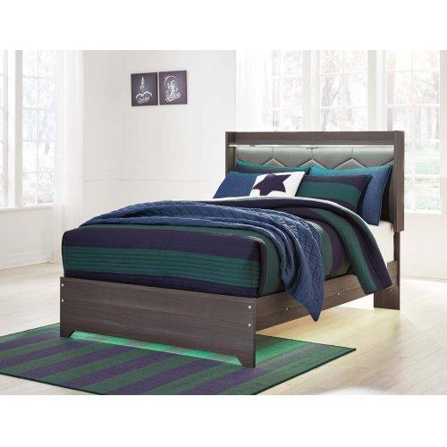 Annikus - Gray 3 Piece Bed Set (Full)