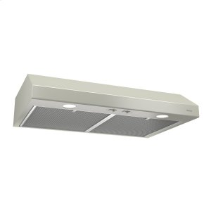 BroanBroan® 30-Inch Convertible Under-Cabinet Range Hood, Bisque