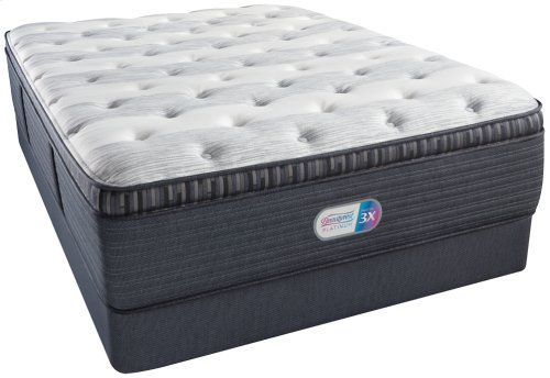 BeautyRest - Platinum - Haddock Meadow - Plush - Pillow Top - Cal King