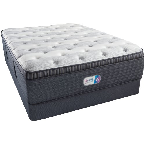 BeautyRest - Platinum - Elmdale Canyon - Plush - Pillow Top - Cal King
