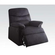 Black Linen Recliner Product Image