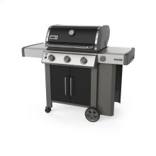 GENESIS II E-315 Gas Grill Black Natural Gas