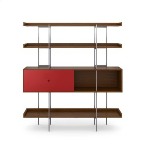 Bdi Furniture5201 Shelf in Toasted Walnut Cayenne