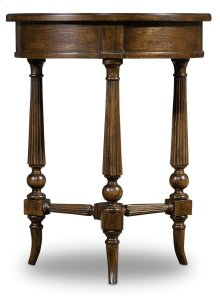 Living Room Archivist Round Accent Table