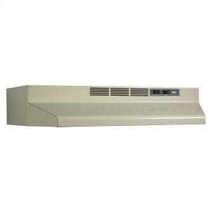 BroanBroan® 30-Inch Convertible Under-Cabinet Range Hood, 160 CFM, Almond