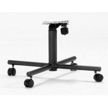 Black Texture Tilt-swivel Chair Base 2pk