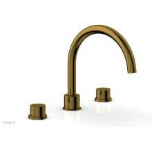 BASIC II Deck Tub Set 230-41 - French Brass