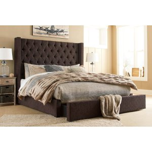 Ashley Furniture Norrister - Multi 3 Piece Bed Set (Cal King)