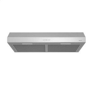 BroanGlacier 30-Inch 300 CFM Stainless Steel Range Hood