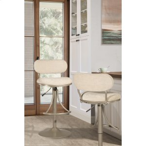 Hillsdale FurnitureAthena Swivel Adjustable Stool - Champagne