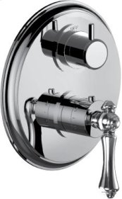 """1/2"""" Thermostatic Trim With Volume Control and 2-way Diverter in Polished Chrome"""