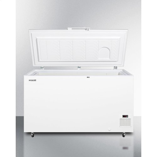 Commercial -45 C Capable Chest Freezer With Digital Thermostat and 12.8 CU.FT. Capacity