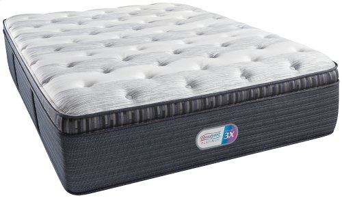 BeautyRest - Platinum 3X - Haddock Meadow - Luxury Firm - Pillow Top - Full