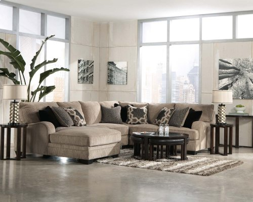 Ashley 2-Piece Sectional with LAF Cuddler