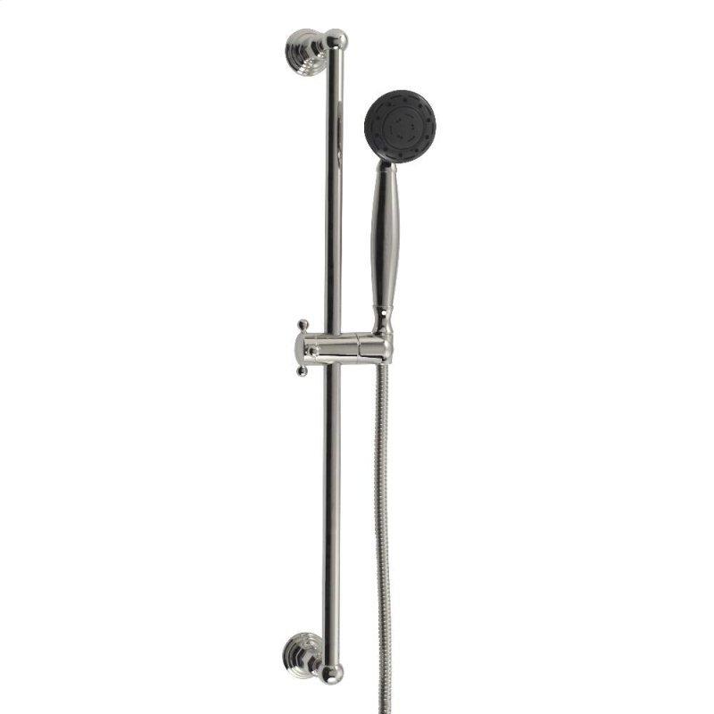 Multifunction Hand Shower With Slide Bar In Oil Rubbed Bronze Hidden