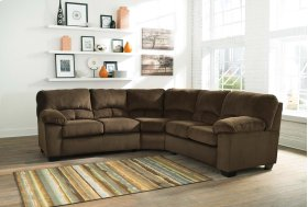 Dailey - Chocolate 2 Piece Sectional