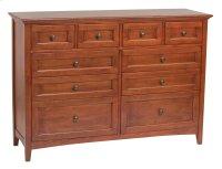 GAC 10-Drawer McKenzie Dresser Product Image