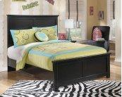 Maribel - Black 3 Piece Bed Set (Full)