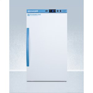 SummitPerformance Series Pharma-vac 3 CU.FT. Counter Height All-refrigerator for Vaccine Storage