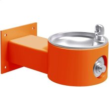 Elkay Outdoor Fountain Wall Mount Non-Filtered, Non-Refrigerated Freeze Resistant Orange