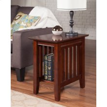 Mission Chair Side Table Walnut