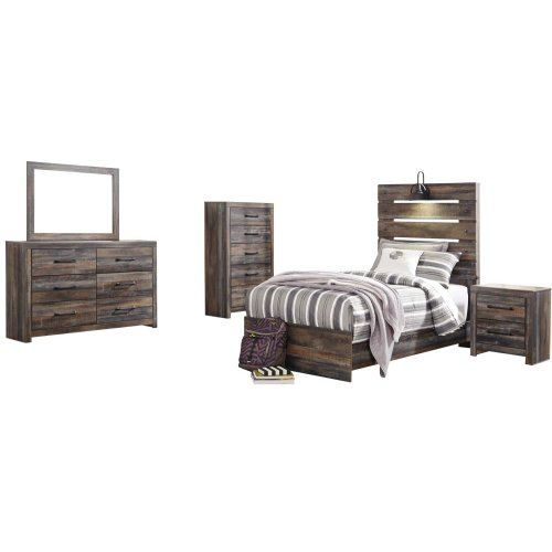 Drystan - Multi 3 Piece Bed Set (Twin)
