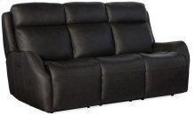 Living Room Sandovol Power Recliner Sofa w/ Pwr Headrest