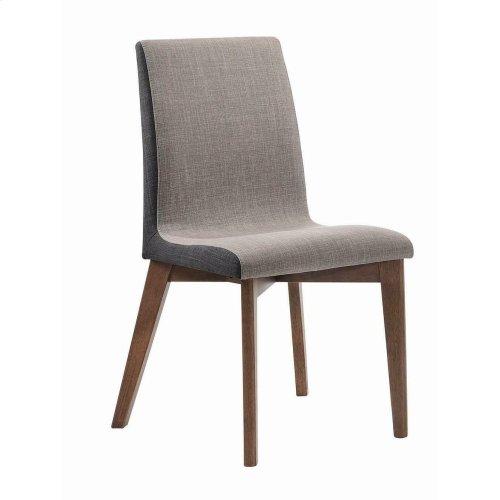 Redbridge Mid-century Modern Natural Walnut Dining Chair