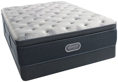 BeautyRest - Silver - Charcoal Bay - Luxury Firm - Summit Pillow Top - Twin XL
