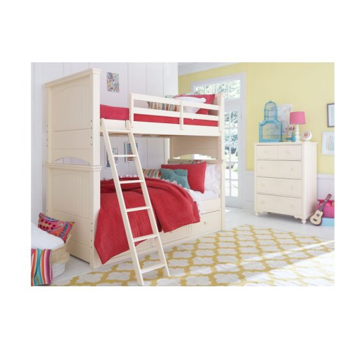 Summerset - Ivory Twin over Full Bunk
