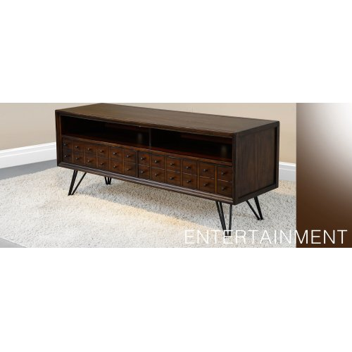 """Deep River Apothecary 64"""" Media Stand"""