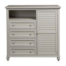 Cotton White Nantucket Chest
