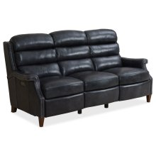 Living Room Allay Recline Sofa w/ Power Headrest
