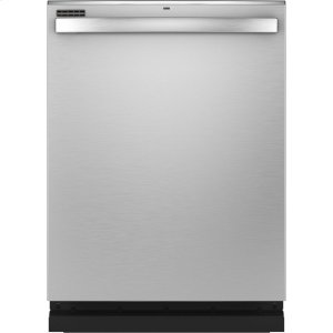 GE®Top Control with Stainless Steel Interior Dishwasher with Sanitize Cycle & Dry Boost with Fan Assist
