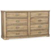 Bedroom Urban Elevation Eight-Drawer Dresser Product Image