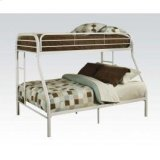 Tritan White T/f Bunk Bed Product Image
