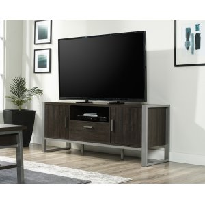 SauderContemporary Metal & Wood TV Credenza