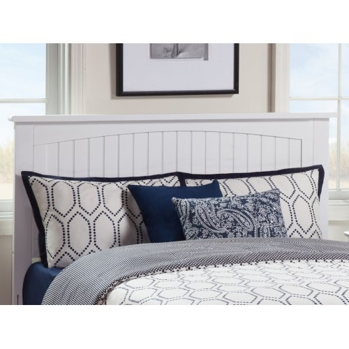 Nantucket Headboard King White