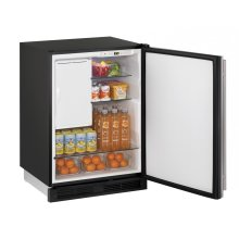 """1000 Series 24"""" Combo® Model With Stainless Solid Finish and Field Reversible Door Swing (115 Volts / 60 Hz)"""