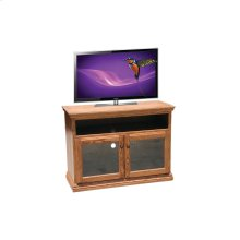 "O-T275 Traditional Oak 44"" TV Console"