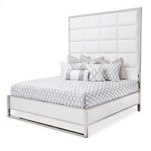Cal King Metal Panel Bed (3 Pc)