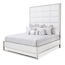 Cal King Metal Panel Bed (3 Pc)
