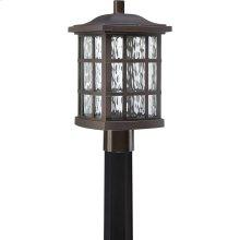 Stonington LED Outdoor Lantern in Palladian Bronze