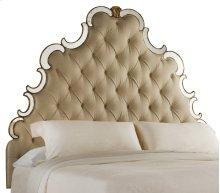 Bedroom Sanctuary Queen Tufted Headboard - Bling