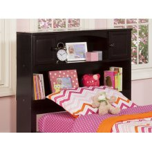 Newport Bookcase Headboard Twin Espresso