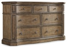 Bedroom Solana Seven-Drawer Dresser