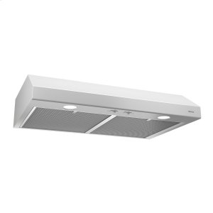 BroanBroan® 24-Inch Convertible Under-Cabinet Range Hood, White