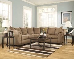 Darcy Mocha Sectional Product Image