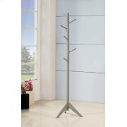Traditional Grey Coat Rack Product Image